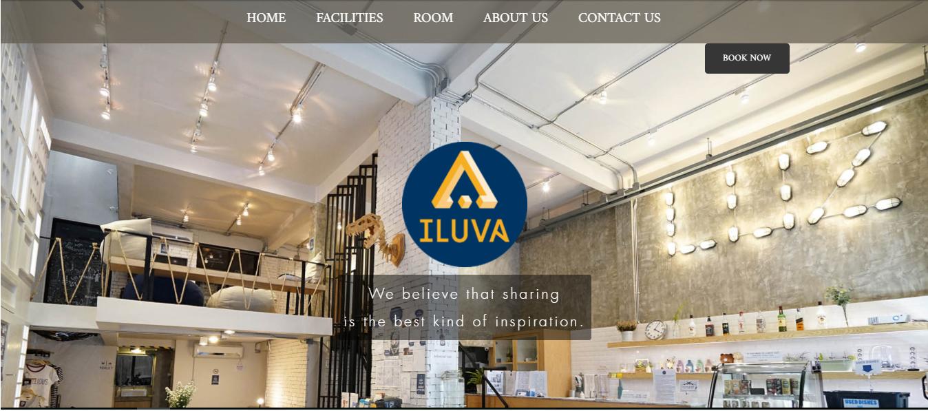 Hình ảnh demo web siêu tốc của ILUVA
